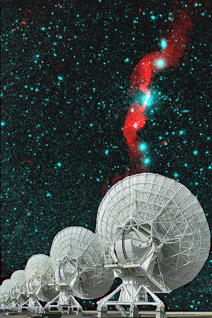 VLA & Radio Galaxy 3C31